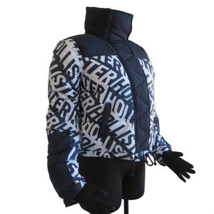 HOLLISTER Women's Mockneck Puffer Jacket size: XS